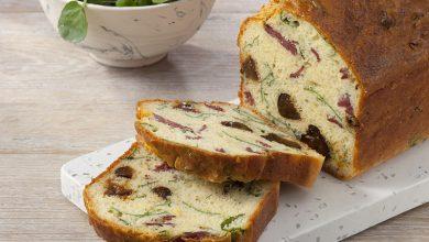 Photo de Cake aux pruneaux, magret de canard et cresson