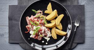Carpaccio de rôti de bœuf accompagné de Côté Chef