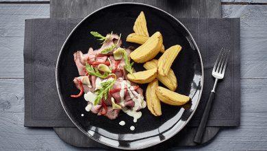 Photo de Carpaccio de rôti de bœuf accompagné de Côté Chef