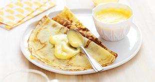 Crêpes sans gluten Tipiak crème au citron