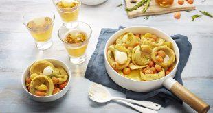 Fonds d'artichauts au cidre, romarin et safran