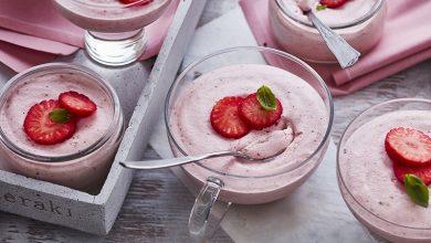 Photo de Mousse de fraises au poivre et basilic