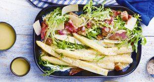 Salade d'asperges des Sables des Landes façon César