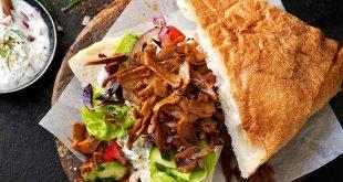 Sandwich aux effilochés Le bon Végétal® avec yaourt aux herbes
