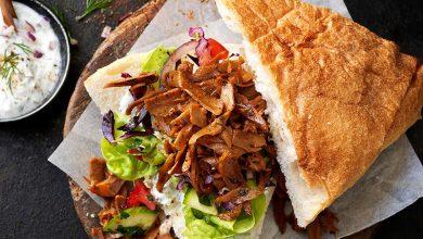 Photo de Sandwich aux effilochés Le bon Végétal® avec yaourt aux herbes