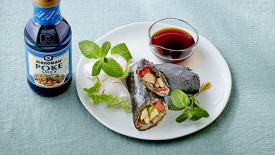 Photo de Wrap aubergines et poulet