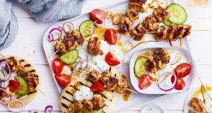 Brochettes de lapin façon Shawarma