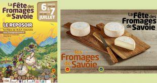 """15ème Édition de """"La Fête des Fromages de Savoie"""" les 6 et 7 juillet 2019"""