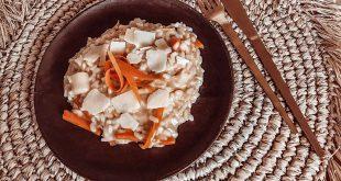 Risotto bio poireaux, carottes et parmesan