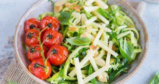Salade de courgette Emmental Tendre Meule Entremont