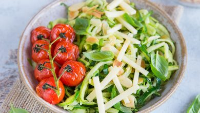 Photo de Salade de courgette Emmental Tendre Meule Entremont