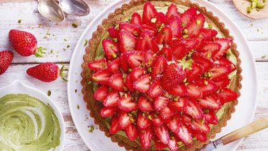 Photo de Tarte fraise-pistache