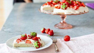 Photo de Gâteau fraises & chantilly sans gluten