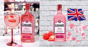 "GIBSON'S, le ""Leader des Gins"", lance sa version Pink !"
