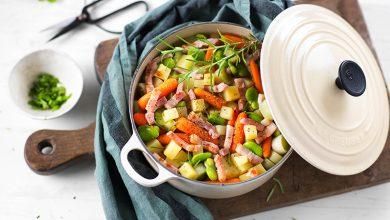Photo de Mijoté de légumes aux lardons