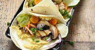 Wrap végétarien aux tranches de brebis Lou Pérac