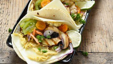 Photo de Wrap végétarien aux tranches de brebis Lou Pérac