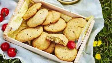 Photo de Cookies à l'Abondance, olives et pesto roquette basilic
