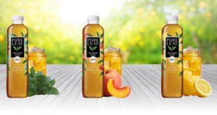 """Pure Leaf® Bio révèle le meilleur du """"Thé infusé glacé"""""""