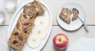 L'Apple cake vegan aux Pink Lady® aux noix de pécan