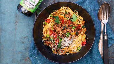 Photo de Spaghettis végétariens
