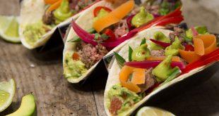 Taco verde bœuf et guacamole