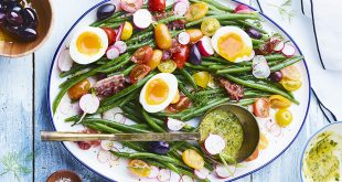 Salade bistrot aux haricots verts