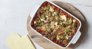 Lasagnes de blé dur veggies aux courgettes