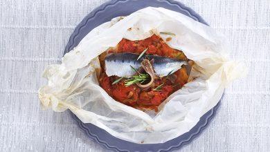 Photo de Papillotes de sardines à la provençale