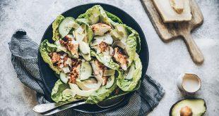 Salade de lapin frit sauce au lait ribot