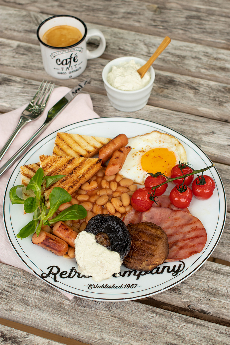 Dresser Une Table À L Anglaise assiette brunch à l'anglaise & champignons portobellos lou