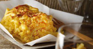 Gratin de macaronis au Beaufort