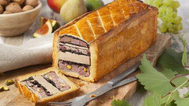 Photo de Le pâté en croûte au Foie Gras