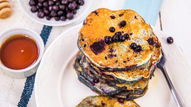 Photo de Pancakes aux myrtilles sauvages