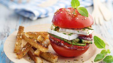 Photo de Burger de tomate au Caprice des Dieux