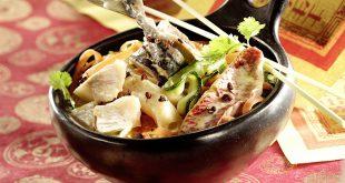 Marmite de poissons, façon Sichuan