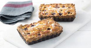 Tartelettes aux raisins et à la crème d'amandes
