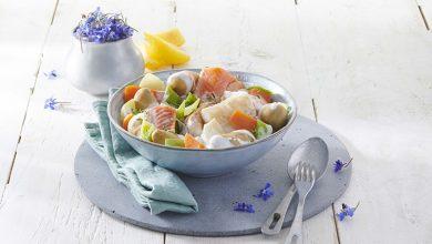Photo de Waterzoï de poisson aux Pompadour Label Rouge