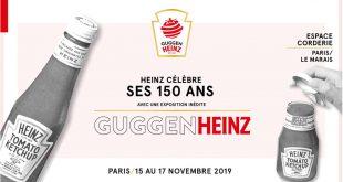 """Exposition """"GUGGENHEINZ"""" pour les 150 ans de la marque HEINZ du 15 au 17 novembre 2019"""