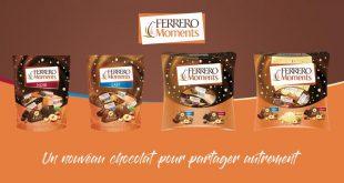 """Ferrero lance """"Moments"""", un nouveau chocolat pour partager autrement !"""