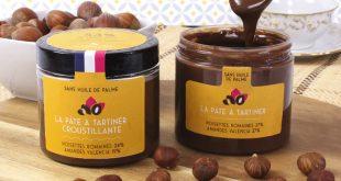 """De Neuville présente sa """"Pâte à Tartiner"""" 53% de fruits secs"""