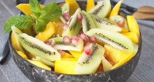 Salade exotique au kiwi