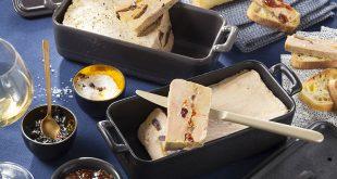 Terrine de Foie Gras aux pruneaux et abricots moelleux