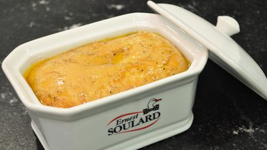 Photo de Foie gras de canard en terrine