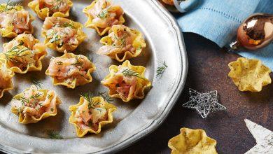 Photo de Tortilla Bowls au saumon & aux agrumes
