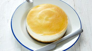 Photo de Cheesecake soufflé et compote de pomme