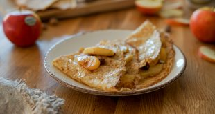Crêpes pommes Antarès® et noisettes