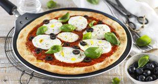 Pizza Margherita à la Poêle