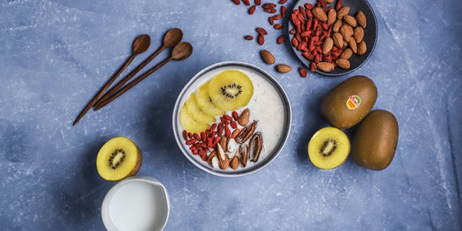 Smoothie Bowl aux Kiwis Zespri® SunGold