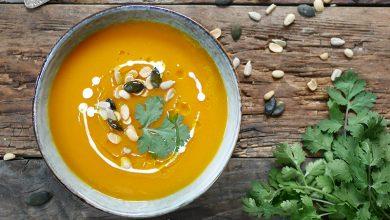 Photo de Soupe de patates douces aux graines Seeberger